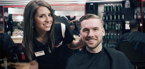 Sport Clips Haircuts of Crestwood​ stylist hair cut